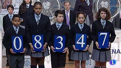 8.347, tercer premio del Sorteo del Niño 2014