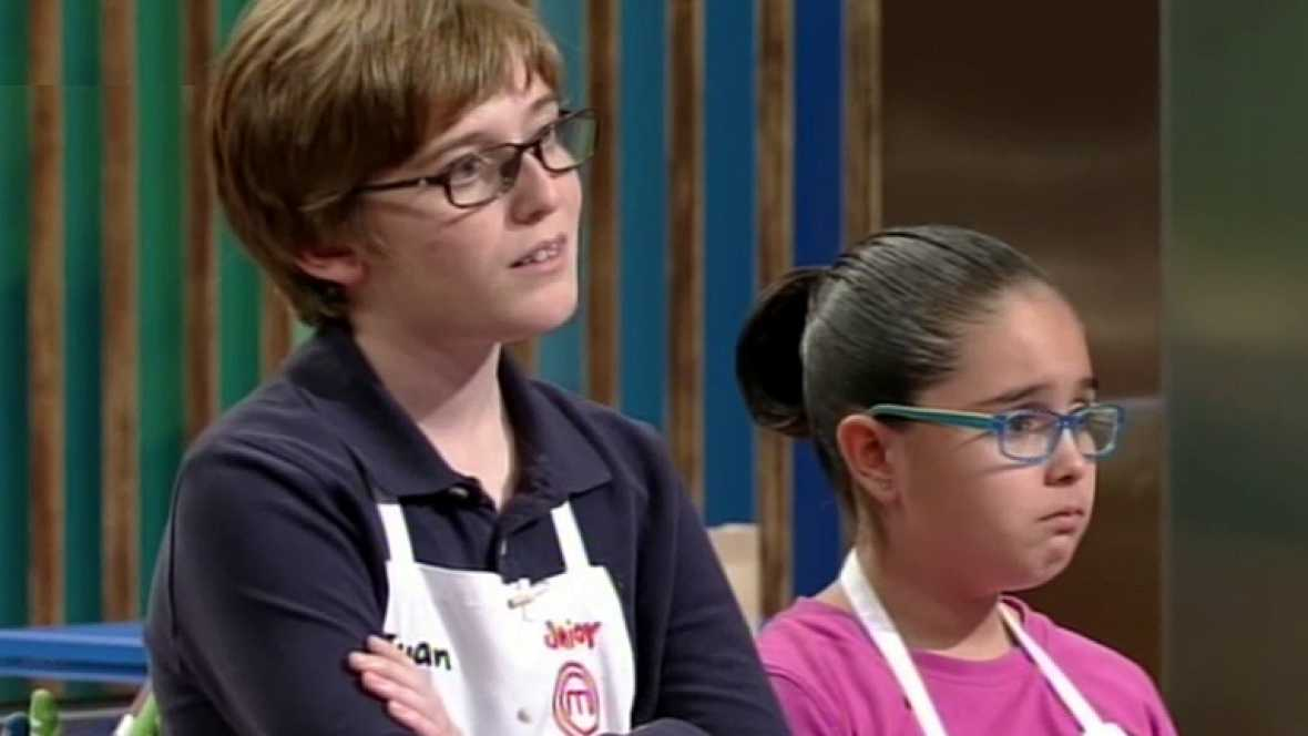 MasterChef Junior - Juan y Esther, a un paso de la gloria
