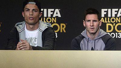 Cristiano y Messi sueñan con el Mundial de Brasil