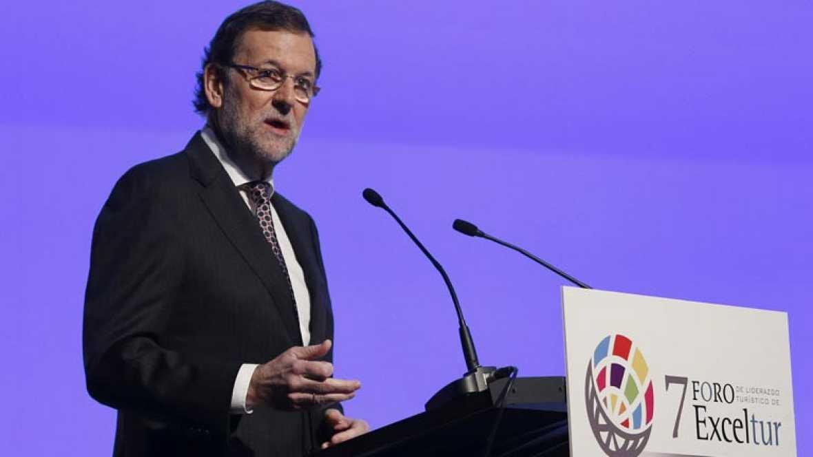 Rajoy confirma que España volvió a ser en 2013 el tercer país más visitado
