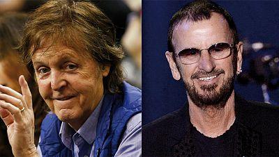 La presencia de Paul McCarney y Ringo Starr centra la atención en los Grammy