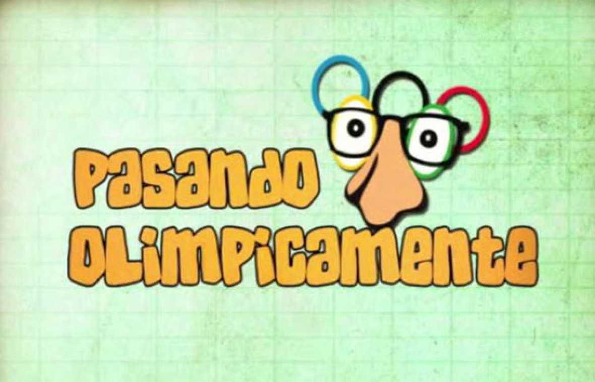 """Avance del programa que realizará Gomaespuma en los Juegos Olímpicos de Pekín: """"Pasando Olímpicamente""""."""
