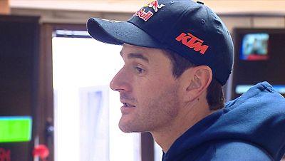 Marc Coma explica la dureza del Dakar 2014 en TVE