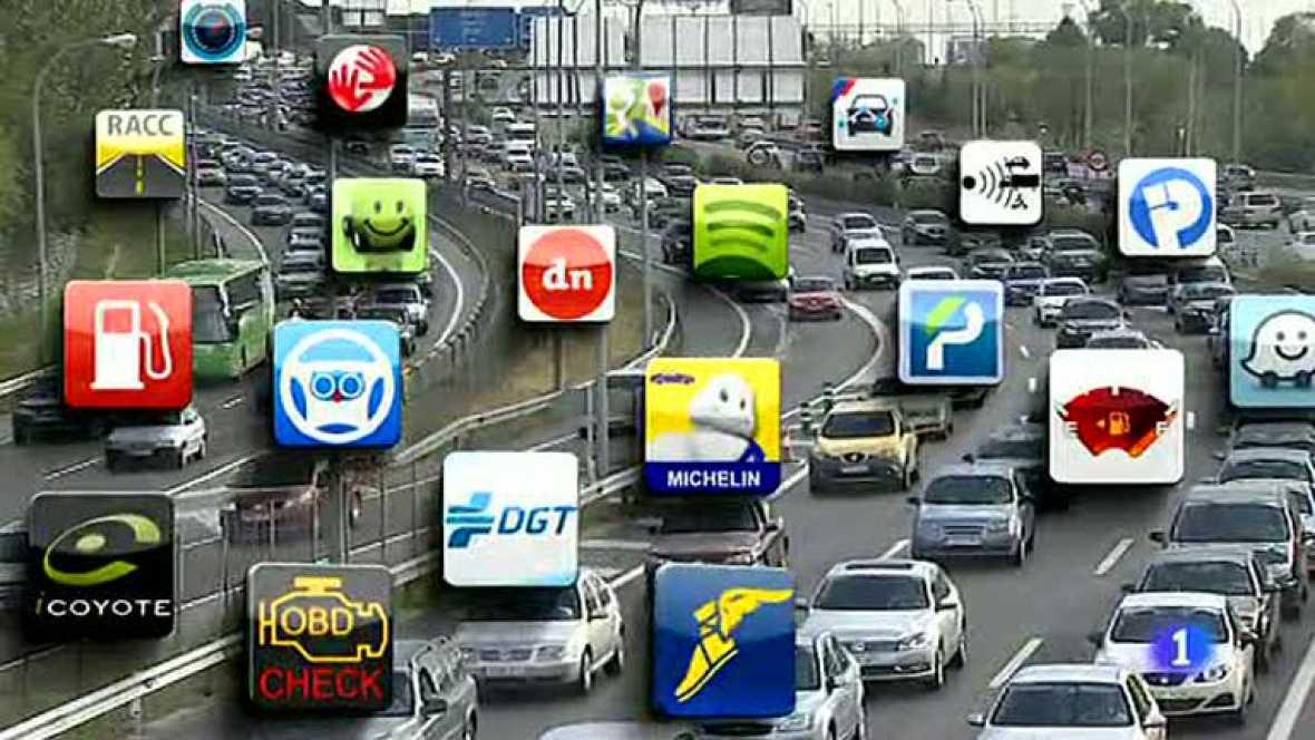 Las aplicaciones móviles ejercen de copiloto para el nuevo conductor tecnológico