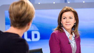 """Cospedal cree """"bastante improbable"""" determinar el candidato a las europeas en la Convención"""