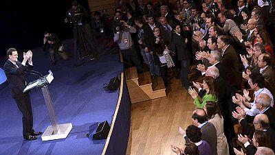 """Rajoy promete un modelo fiscal más """"simple"""", """"equitativo"""" y que baje los impuestos varios años"""