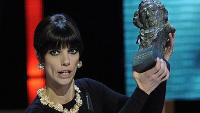 Versi�n espa�ola: Todas las ganadoras del Goya a la mejor actriz