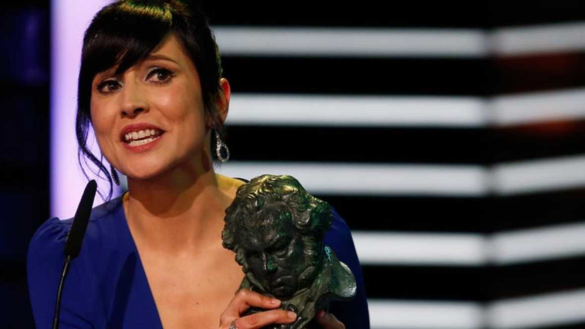 "Marian Álvarez, Goya a la mejor interpretación femenina: ""Mi padre me enseñó a jamás tirar la toalla"""