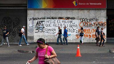Continúan las protestas de los estudiantes en Venezuela