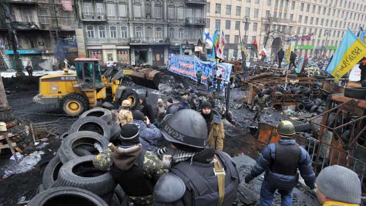 Amnistía para los detenidos en Ucrania