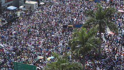 Pulso en las calles venezolanas entre el Gobierno y la oposición
