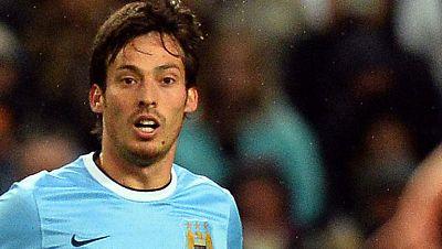 David Silva, pionero de los españoles en el Manchester City