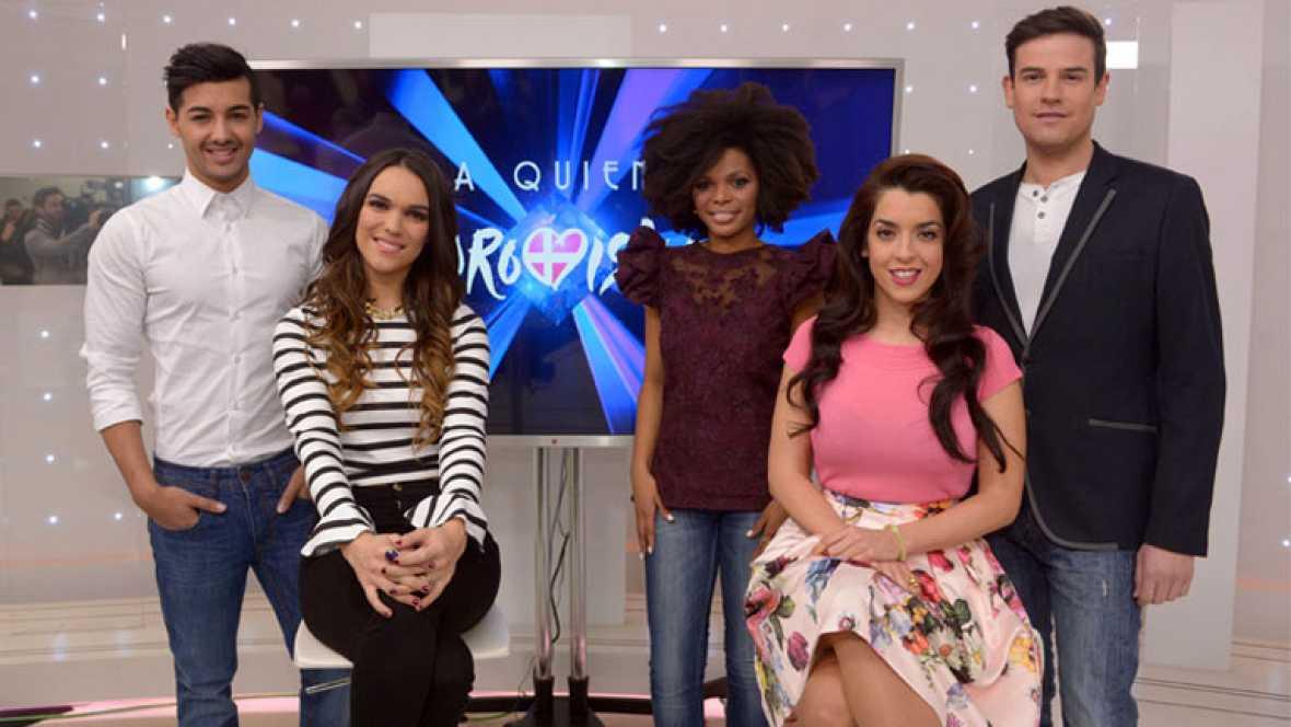 Los aspirantes a representar a España en Eurovisión 2014 nos presentan sus canciones