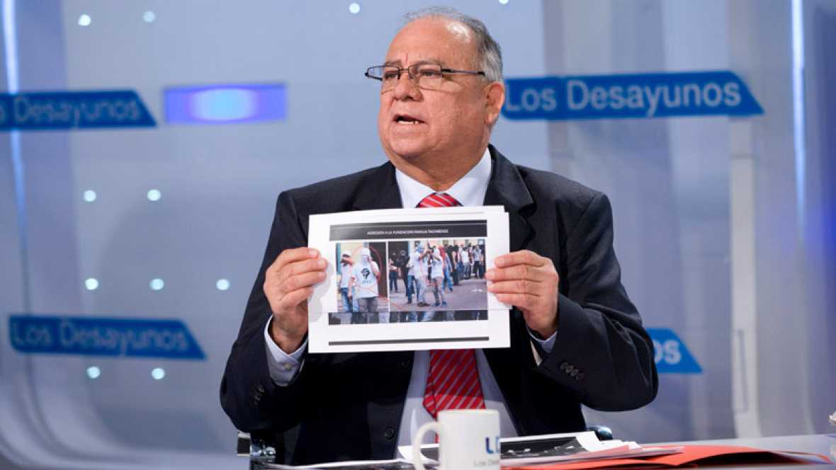 """Mario Ricardo Isea, embajador de Venezuela: """"No hay necesidad de una insurrección, de incendiar el país"""""""