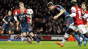 El Bayern no perdona en casa del Arsenal