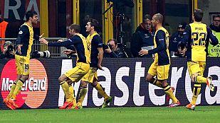 El Atlético se gana en San Siro el respeto en Europa