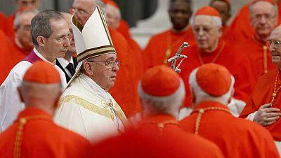 El papa Francisco designa 19 cardenales por primera vez