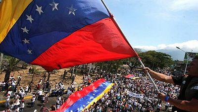 Capriles encabeza una nueva protesta contra el Gobierno de Maduro en Venezuela