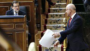 """Duran, a Rajoy: """"No quiero una Cataluña aislada. Si no quiere una España amputada, dialogue"""""""