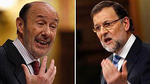 Rubalcaba y Rajoy se reprochan mutuamente el incremento de las desigualdades sociales