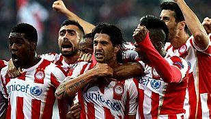 El Olympiacos deja tocado al Manchester United (2-0)