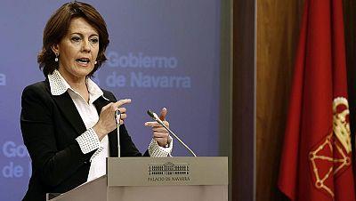 """Barcina: """"No voy a dimitir porque no voy a seguir la hoja de ruta de Bildu"""""""
