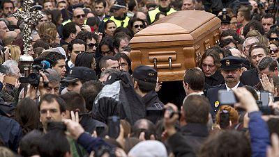 Enorme emoción en la despedida a Paco de Lucía en Algeciras