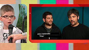 Telemaratón solidario - Síndrome de Moebius: Estopa y Ángel Nieto dan una sorpresa a Chemita y Marta