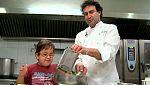 Telemaratón solidario -  Síndrome de Lowe: Ignacio cocina con Pepe de Masterchef