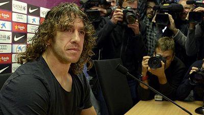 Puyol anuncia su marcha del Barcelona