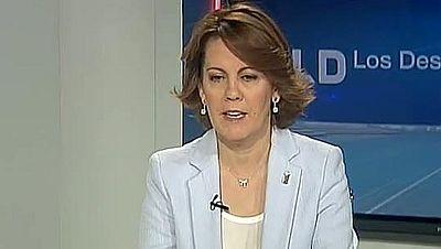 Entrevista a Yolanda Barcina en Los Desayunos de TVE