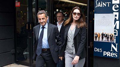 Escándalo en Francia por la difusión de conversaciones privadas del expresidente Nicolás Sarkozy