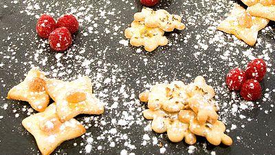 Galletas de avellana y nuez de macadamia