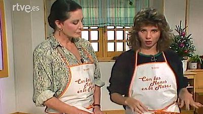 Con las manos en la masa - Tarta de queso y tomate al estrag�n con Victoria Abril