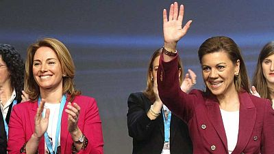 """Cospedal ha señalado que el PP Vasco es el """"corazón del Partido Popular"""""""