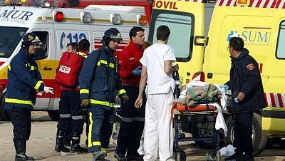 Los profesionales y voluntarios fueron los otros protagonistas del 11M, junto a las víctimas