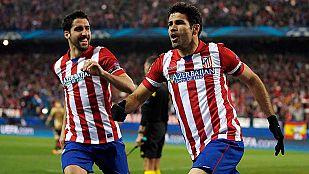 El Atlético de Madrid 'barre' al Milan de la Champions
