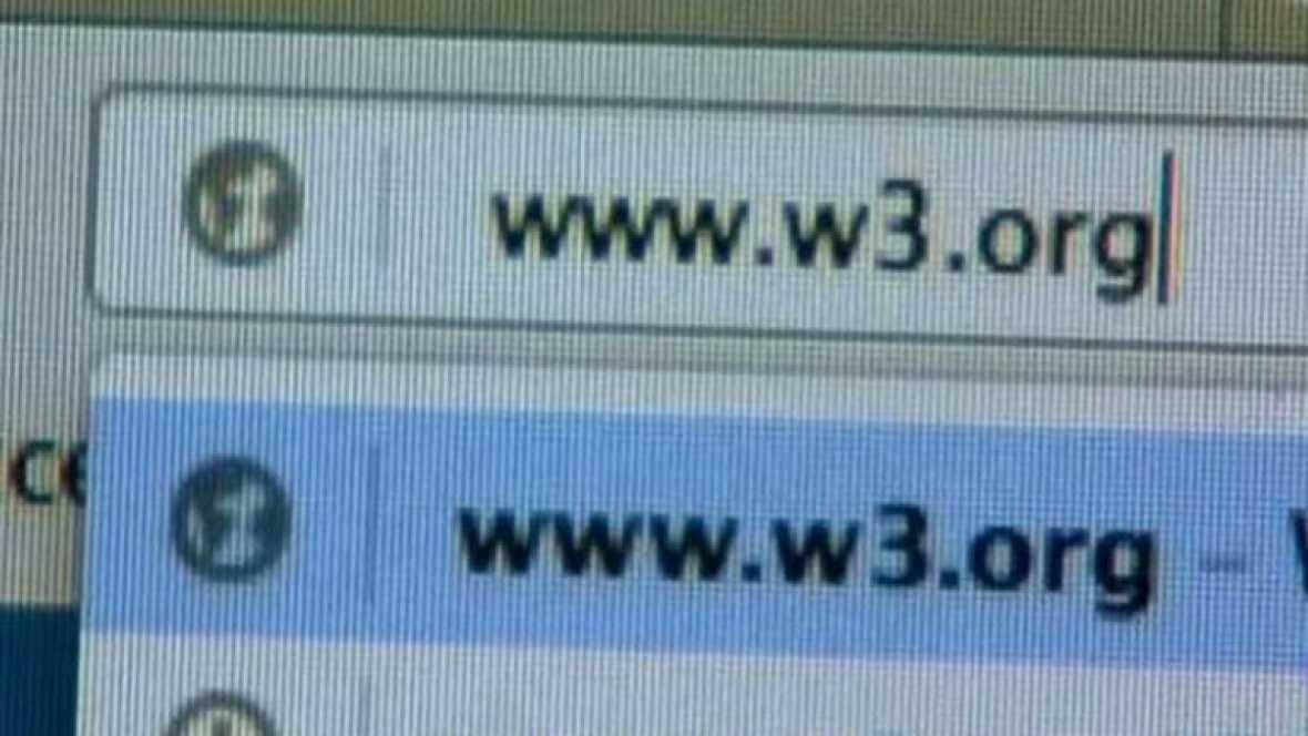 Las siglas de internet www cumplen 25 años