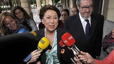 Magdalena Álvarez tiene hasta mañana para depositar la fianza de casi 30 millones que le impuso la juez Alaya