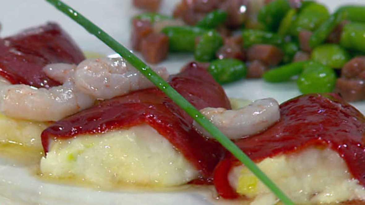 Cocina con Sergio - Piquillos rellenos de merluza - ver ahora