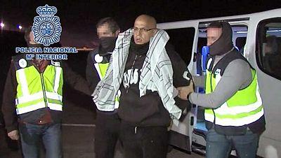 Zouhier, libre y expulsado de España tras 10 años de prisión por el 11M