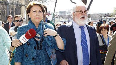 La exministra, Magdalena Álvarez, asegura que es inocente