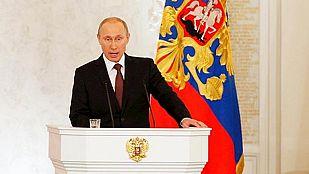 """Putin justifica la aceptación de la adhesión de Crimea: """"Crimea siempre ha sido rusa"""""""