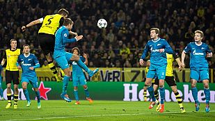 Borussia Dortmund y Manchester United pasan a cuartos