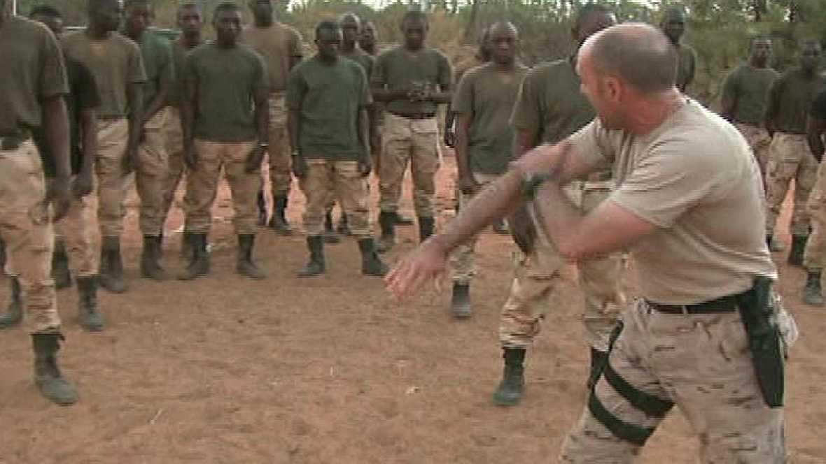 Así trabajan las tropas españolas en Mali