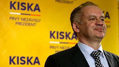 El millonario Andrej Kiska gana la segunda y definitiva vuelta de las elecciones presidenciales en Eslovaquia