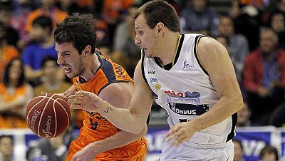 Valencia Basket 69 - Rio Natura 64