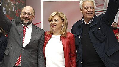 El PSOE presenta su candidatura a las europeas