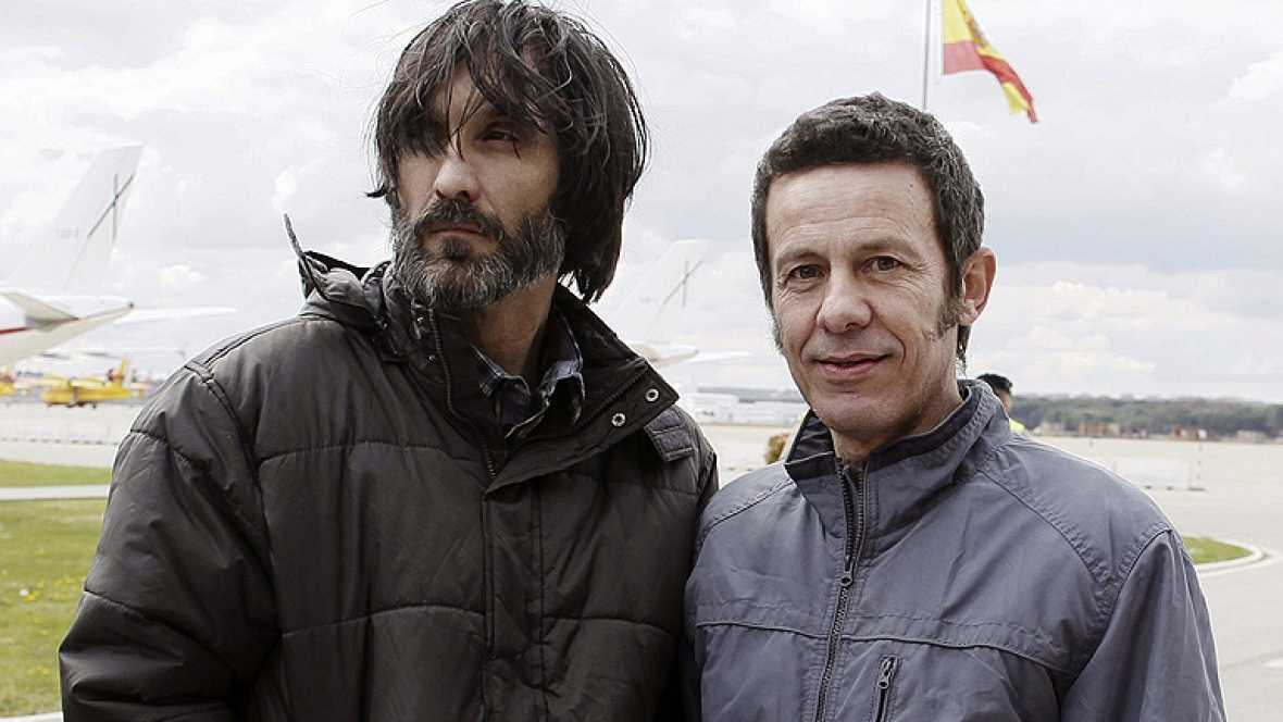 Los dos periodistas españoles liberados en Siria llegan a casa