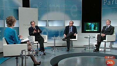 Parlamento - El debate - Homenaje a Adolfo Suárez - 29/03/2014